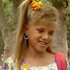 90s Hair Trend: side hi-pony secured with a scrunchie and this is my hair style when I was a kids 90s kid and loving it #90s #kid