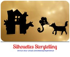 Storytelling with silhouettes on the light box