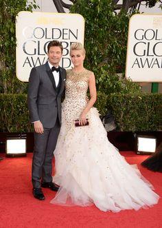¿Quién llegó con quién a los Golden Globes 2013?
