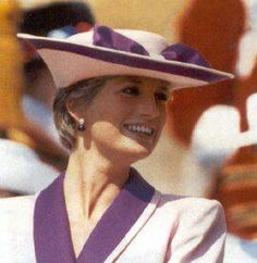 Diana in the pink and purple