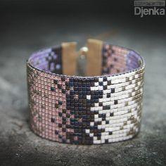 Beaded Cuff Bracelet, Bead Loom Bracelets, Beaded Bracelet Patterns, Bead Loom Patterns, Bracelets For Men, Beading Patterns, Cuff Bracelets, Diy Jewelry, Beaded Jewelry
