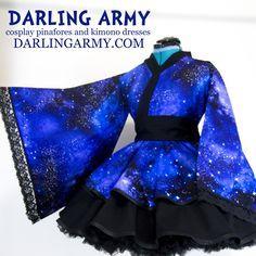 Galaxy Cosplay Kimono Dress - - Galaxy Cosplay Kimono Dress – Source by jujikamarietenshi - Cosplay Dress, Cosplay Outfits, Anime Outfits, Mode Outfits, Fashion Outfits, Cosplay Style, Scene Outfits, Fashion Clothes, Kawaii Fashion