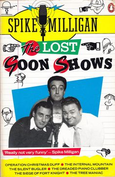 Spike Milligan  The Lost Goon Shows by ConstantCollectors on Etsy