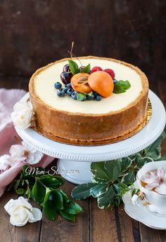 New Yorker Käsekuchen - Women's Fashion Raw Vegan Desserts, Chocolate Desserts, Sweet Recipes, Cake Recipes, Dessert Recipes, Victoria Cakes, Cheesecake Decoration, Artisan Food, Yummy Food