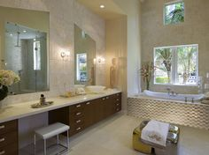 Beige Modern Bathroom - Modern Bathrooms - Zimbio