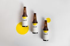 Vincit Beer Special Limited Edition by Marco Vincit on Packaging of the World - Creative Package Design Gallery Beverage Packaging, Bottle Packaging, Coffee Packaging, Food Packaging, Branding Digital, Beer Specials, Craft Beer Labels, Wine Labels, Bottle Labels