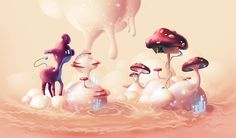 Aaron Campbell, is a pretty skilled designer and illustrator from Vancouver, BC.