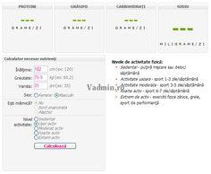 Calculator necesar zilnic de nutrienti Calculator, Map, Maps, Peta