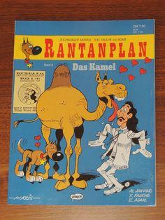 Rantanplan Band #8 Das Kamel (Ehapa Verlag) Western Comics, Lucky Luke, Westerns, Band, Camel, Drawing S, Sash, Ribbon