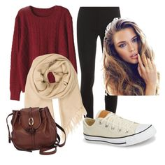 """""""Sweater weather"""" by parker1126 on Polyvore featuring Splendid, Isabel Marant, Converse and Brighton"""