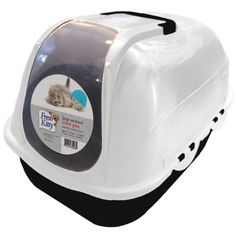 Fresh Kitty Large Enclosed Litter Pan, Odor and Stain Free * More info could be found at the image url. (This is an affiliate link and I receive a commission for the sales) #CatLovers