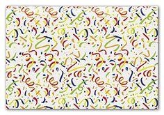 Pattern Tissue Paper - White Confetti Tissue Paper, 20 x 30' (240 Sheets