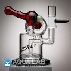 TORO Glass Macaroon with Black Lip and Base
