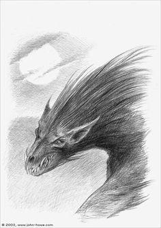 Warg by John Howe