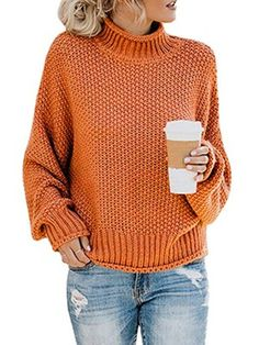 New autumn and winter clothes casual elegant sweater pullover knitted turtleneck sweater women long sleeve office ladies Pullover Mode, Pullover Sweaters, Sweatshirt, Oversized Sweaters, Women's Sweaters, Black Sweaters, Loose Sweater, Long Sleeve Sweater, Green Sweater