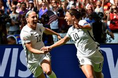 US exorcises ghosts of '99 with rout in Women's World Cup final Julie Johnston  #JulieJohnston