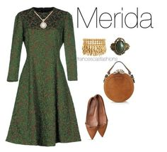"""Merida"" by msfrancescaaloe on Polyvore featuring Rochas, Allurez, Henri Bendel, Carven, women's clothing, women's fashion, women, female, woman and misses"