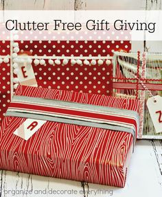 Clutter Free Gift Gi