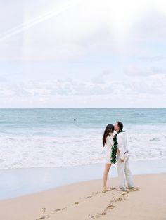 destination beach elopement