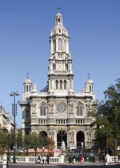 L'église de la Trinité à Paris