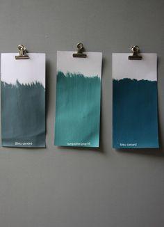 Blue green Source by marielaurelapor Room Colors, Wall Colors, Paint Colors, Colours, Colour Board, Color Pallets, Colour Schemes, True Colors, Colorful Interiors