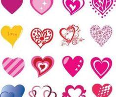 16 Kostenlose Herzförmiges Vektoren Für Valentine S Day