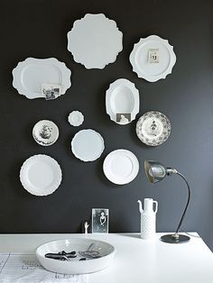 plates as wall art