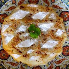 Pastilla is the most emblematic Moroccan appetizer. It consists of a sweet & savory chicken filling that is wrapped in layers of very thin dough.