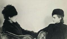 Schiaparelli and her daughter Gogo Schiaparelli