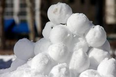 How to win any snowball fight.