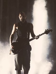 Oliver Riedel, bassist of Rammstein