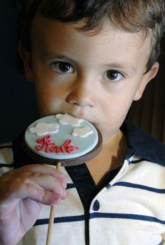 O pequeno Italo se divertiu com cada detalhe que preparamos com muito carinho para ele.