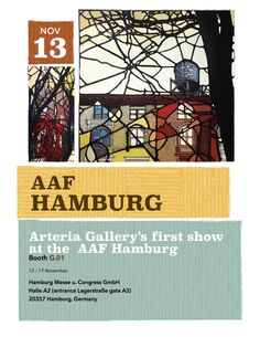 Artêria #Art #Gallery representing #Denitza in #AAFHamburg 2013 #Hamburg, Germany. This is a first exhibition for both the Gallery and Denitza.