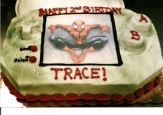 Spiderman Cake   By Curtis-C-Cakes
