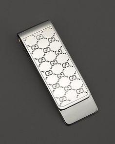 6950303446e9 Gucci Sterling Silver Icon Money Clip Men - Jewelry   Cufflinks -  Bloomingdale s