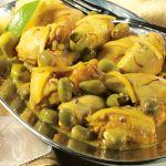 Recette de poulet aux olives de CHOUMICHA