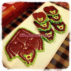 Chairback Doily 7 pcs #crochet #crocheting #crocheters #crochetersofinstagram #crochetart #crochetaddict #crochetaddicted #crochetgeek #crochetmotif #crochetpattern #crochetlove #crochetlover #crochetbag #handmadewithlove #malaysiancrocheter #zanacrochetcraft by bubuzanacrochetcraft