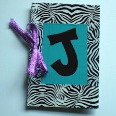 Duct Tape Journal Craft. Share your thoughts in your personal journal! From FreeKidsCrafts.com