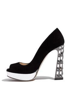 Cool black heels