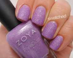Seriously Swatched: Swatch & Review - Zoya Summer 2013 PixieDust Collection: Zoya Nail Polish in Stevie