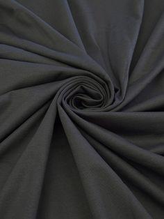 PRE CUT 2 7/8 yards - Anchor Gray Rayon/Nylon/Lycra Ponte Knit 58W