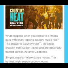 New! Country heat!! I'm an Independent Beachbody Coach eager to help motivate and keep you accountable! We offer online Health&Wellness groups to follow and share your journey. Fitness programs to suit your needs and the nutrient dense super food ShakeOlogy! Comment for pricing and info(aka don't buy this listing:)) Beachbody Other