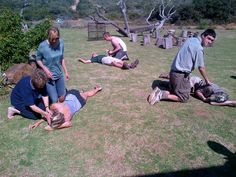 Here's a little taster for all the new recruits heading off for the next 60 day Shamwari Game Ranger course next week !