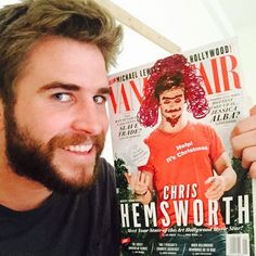 Pin for Later: The (Instagram) Shot Heard 'Round the World: A Hemsworth Civil War Round 3: Two Can Play at That Game