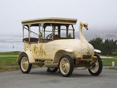 The 1910-Brooke Swan Car, which once belonged to the Maharaja of Nabha, is now with Louwman Museum in the Netherlands.