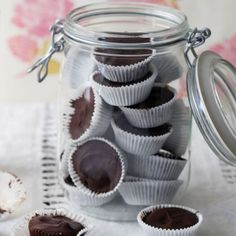 Healthy Chocolate Peanut Butter Cups Recipe - 12 Holiday Food Gift Recipes - Shape Magazine