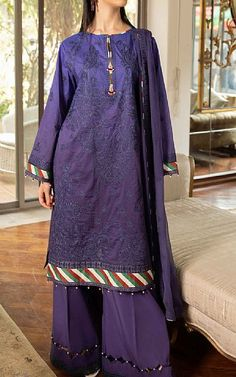 Lawn Suits, Famous Brands, Sapphire, Navy Blue, Stuff To Buy, Clothes, Outfits, Clothing, Kleding