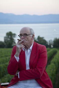 Gentleman with a cigar - Editorial - Switzerland - Portrait