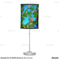 Animals for A Child's Room Table Lamp