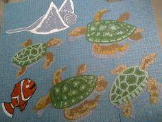 mosaicos em pastilhas de vidro (avulsos)